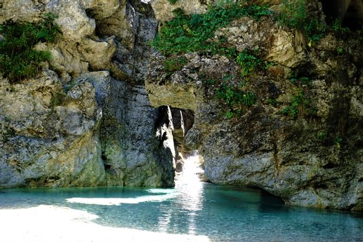 The Sava in Kranjska Gora looking tropical