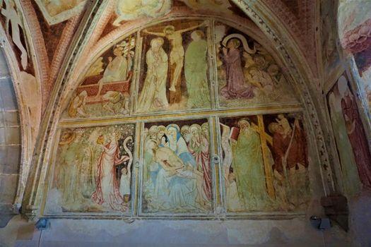 Fresco in the parish church of Ptujska Gora