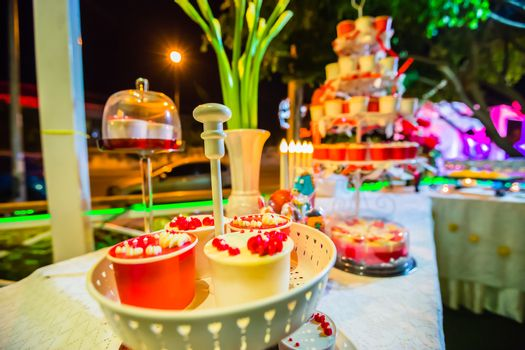 Cupcakes on stand for party