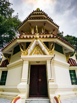 Pattaya Chonburi, Thailand. Thai gazebos-temple (sala) at Wat Ya