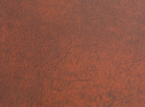 Brown leather book cover used as background.