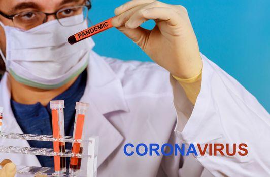 Pandemic virus infection pneumonia COVID-19 epidemic infection coronavirus global pandemic