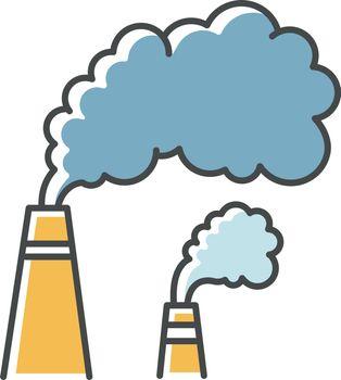 Smoke RGB color icon