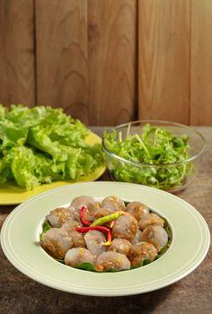 Steamed Tapioca Dumplings with Pork