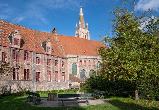 Historic buildings of Bruges, Belgium