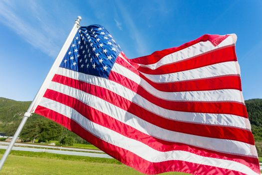 Flag of the United States of America (American flag or The Stars