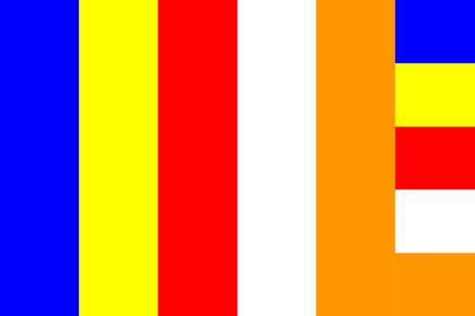 Buddhist flag symbol