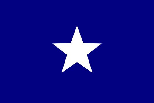Bonnie Blue flag unofficial banner of the Confederate States of America