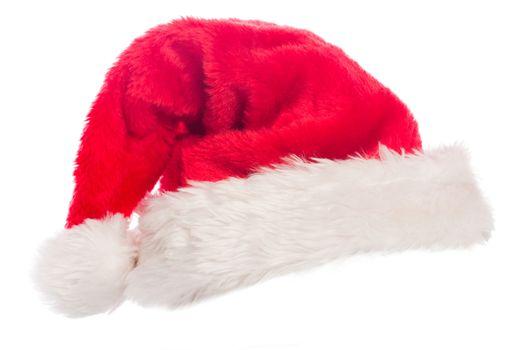 Close up of a santa hat