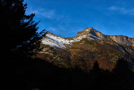 the pyrenees mountains