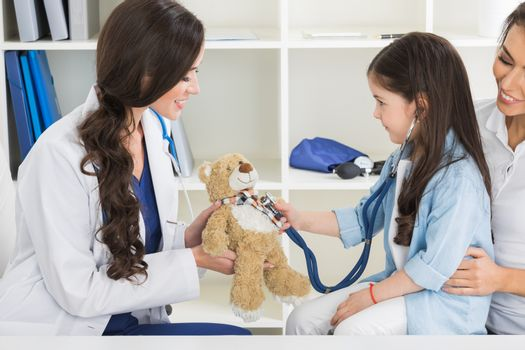 Child patient with general practitioner