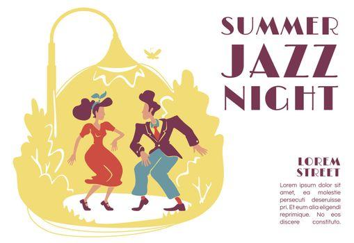 Summer jazz night