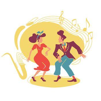 Swing jazz party