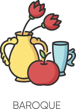 Baroque RGB color icon