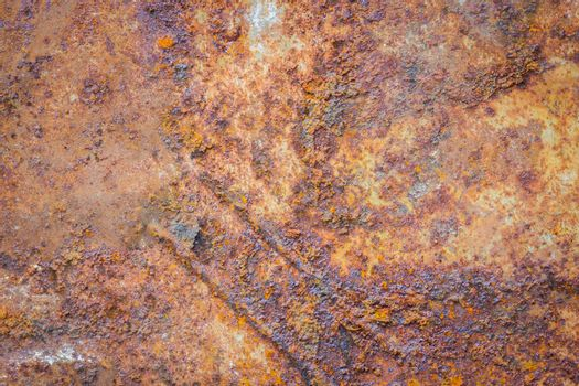 Background of rusty metal corroded texture