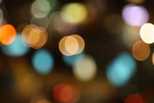Abstract Blur lights background