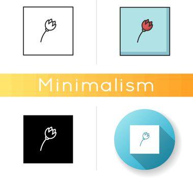 Minimalism style icon