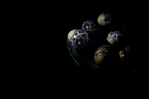Easter eggs in the dark