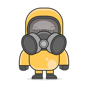 Corona Virus In China. Novel Corona Virus 2019-ncov, Man In White Medical Face Mask. Concept Of Corona Virus Quarantine. Observe Safety Measures In Public Places.