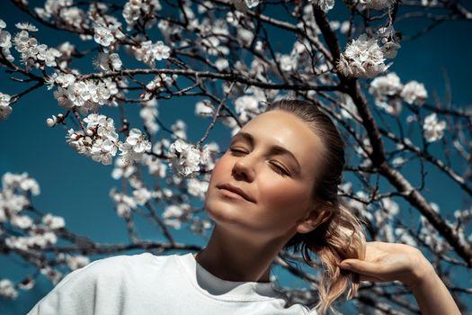 Spring fashion portrait