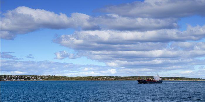 Tanker off Coast of Maine