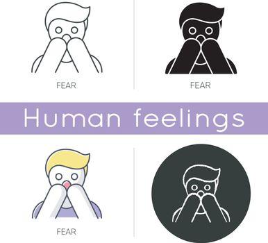 Fear icon