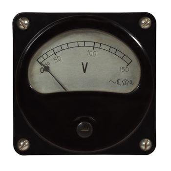 retro old voltmeter