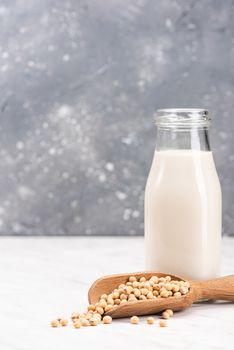 Soy or Soya Milk. Alternative Non Dairy Oraganic Milk. Plant Based Food.
