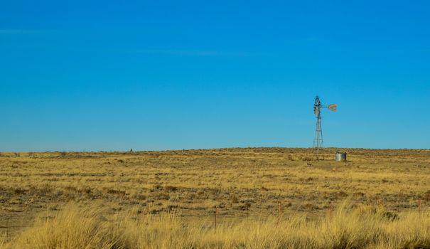 Aermotor. Desert Wind Turbine in Arizona