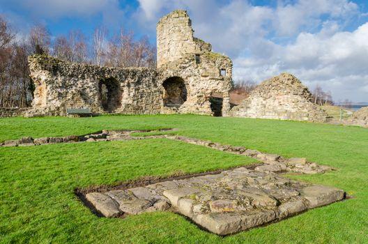 Flint Castle in North Wales