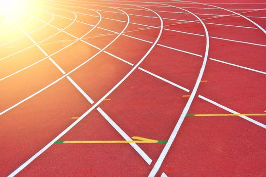 Athletics track.