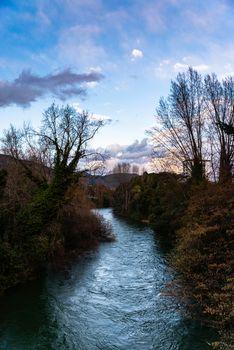 GLIMPSE OF THE TERNI RIVER