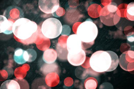 Digitally generated twinkling light design