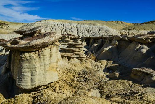 Rock formations at the Ah-shi-sle-pah