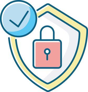 Antivirus RGB color icon