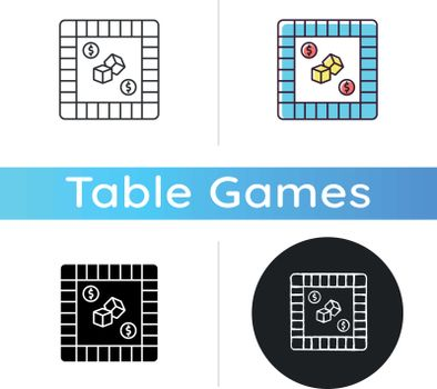 Property trading game icon