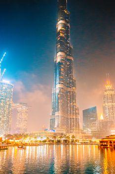 Famous sight in Dubai, United Arab Emirates
