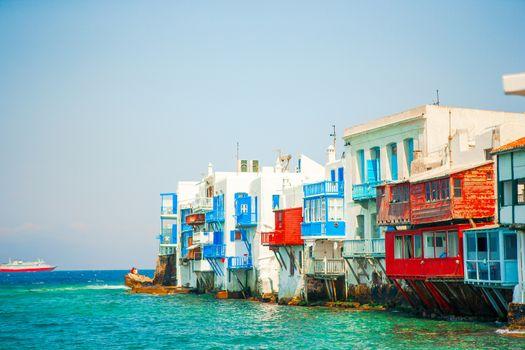 Little Venice the most popular sight in Mykonos Island