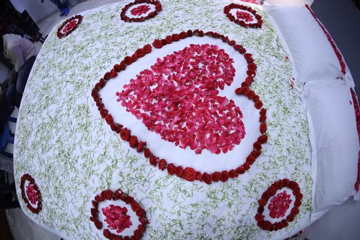 Flowers decoration at function