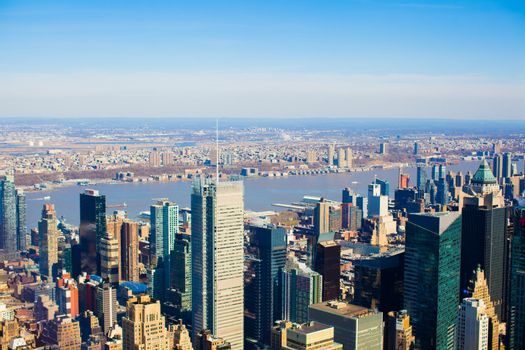 New York. Manhattan. Empire State Building. USA