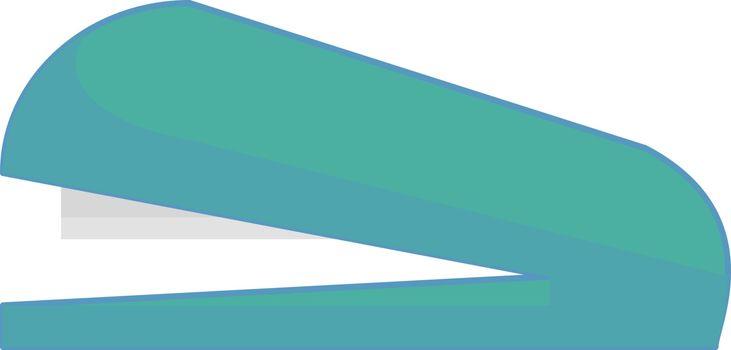 Stapler, illustration, vector on white background.