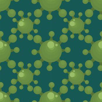 Coronavirus pattern , illustration, vector on white background