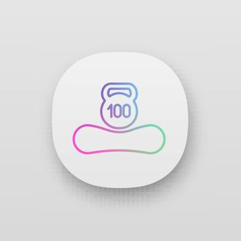 Maximum weight limit up to 100 kg app icon