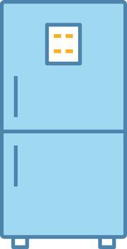 Fridge color icon