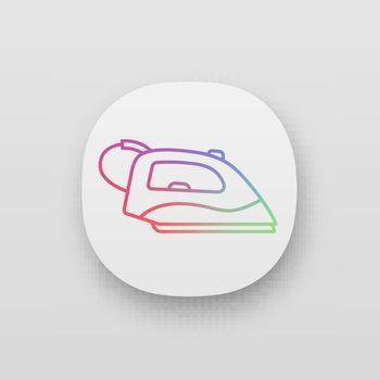 Steam iron app icon