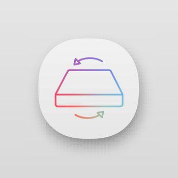 Dual season two-sided mattress app icon