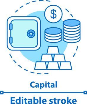 Capital concept icon