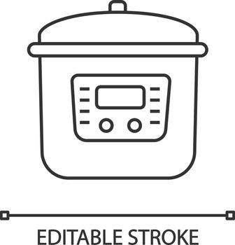 Multi cooker linear icon