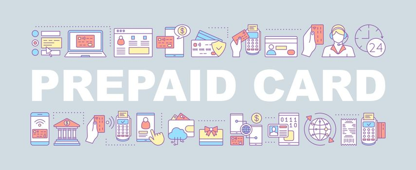 Credit card word concepts banner