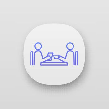 Business lunch app icon